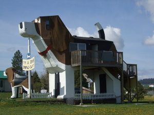 Dog Bark Park Inn, USA, Hotel, Travel