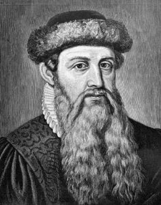 Johann Gutenberg, Printing Press