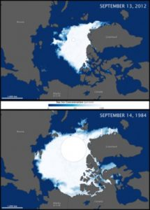 Shrinking Arctic Sea Ice, Global Warming, Nature, Environment, Climate, Greenhouse Gas, Greenland Ice Core, Al Gore, Carbon dioxide, Hothouse earth, Feedback mechanisms