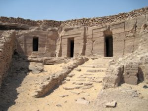Qubbet el-Hawa Necropolis, archaeological discovery