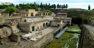 Ruins of Herculaneum, archaeological discovery