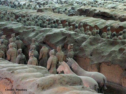 Qin Shi Huang's Terracotta Army, archaeological discovery
