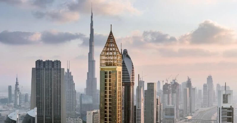 Tallest hotel in the world