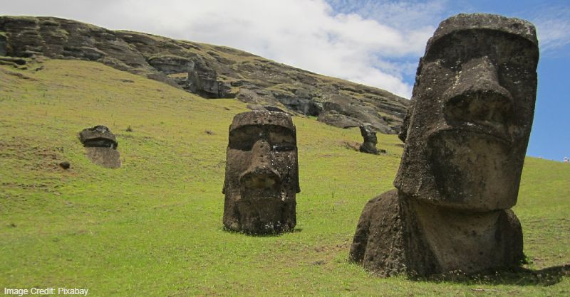 Chile, Chile tourist attractions, easter island, easter island heads, Island, moai, National Park, rapa nui, statues, Tourist attractions in Chile, Tourist attractions near me in Chile