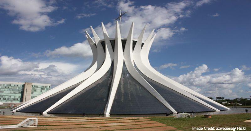 Cathedral of Brasília, cathedral, catholic church, Brazil, Brazil tourist attractions, Tourist attractions in Brazil, Tourist attractions near me in Brazil