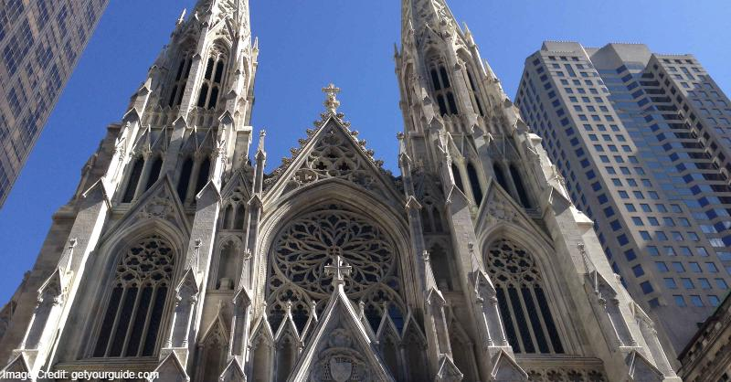 architecture, cathedral, Catholic Church, Engineering feat, New York, New York tourist attractions, Tourist attractions in New York, Tourist attractions near me in New York
