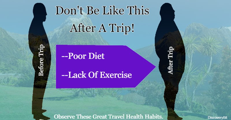 healthy habits, healthy eating, Travel, healthy living, Physical activity
